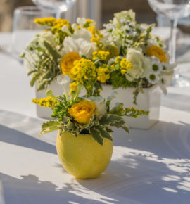 Flower decorations for Wedding on the Amalfi Coast