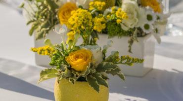 Flower decorations for Wedding on the Amalfi Coast