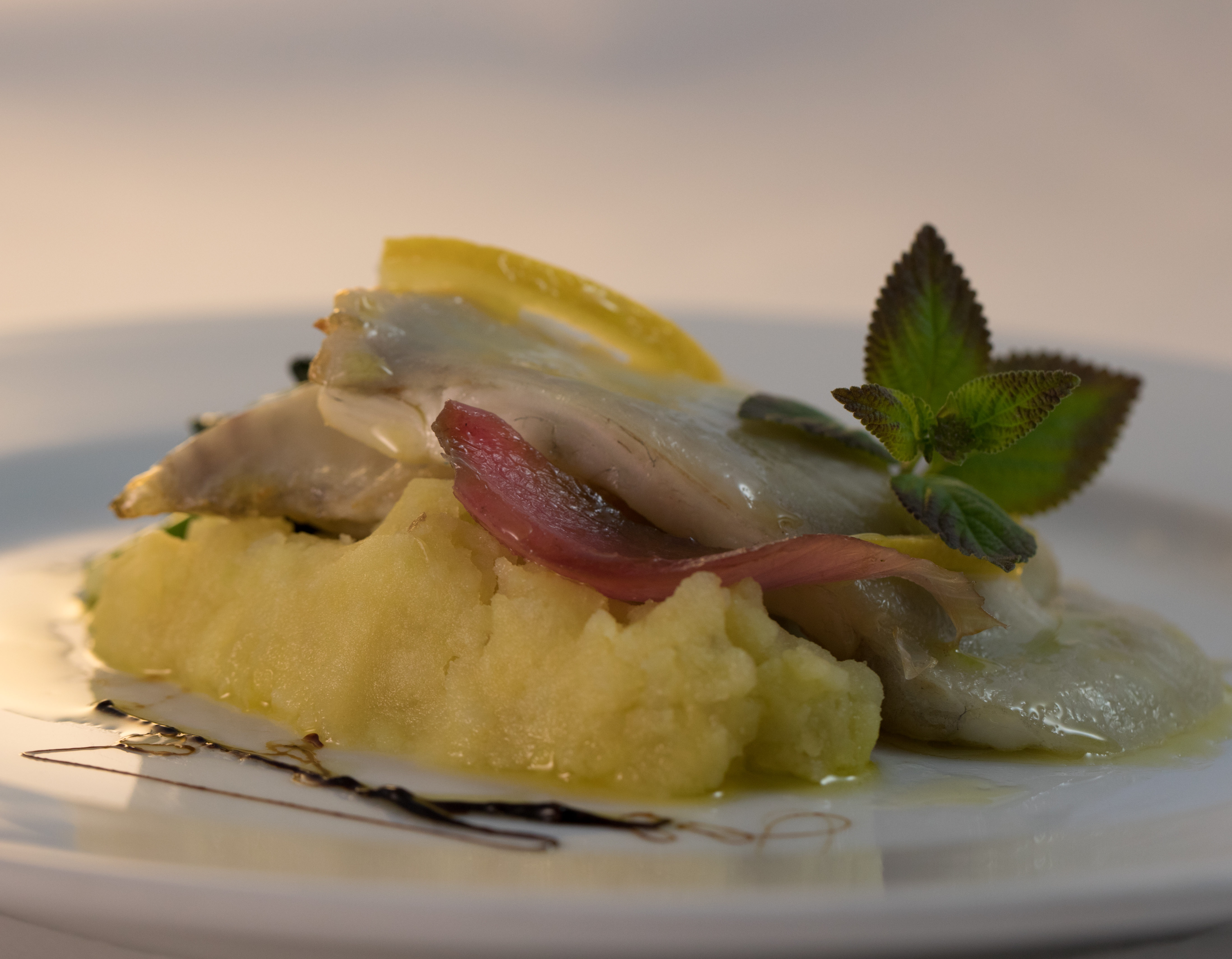 Gastronomic Experience_Local Fish with potatoes